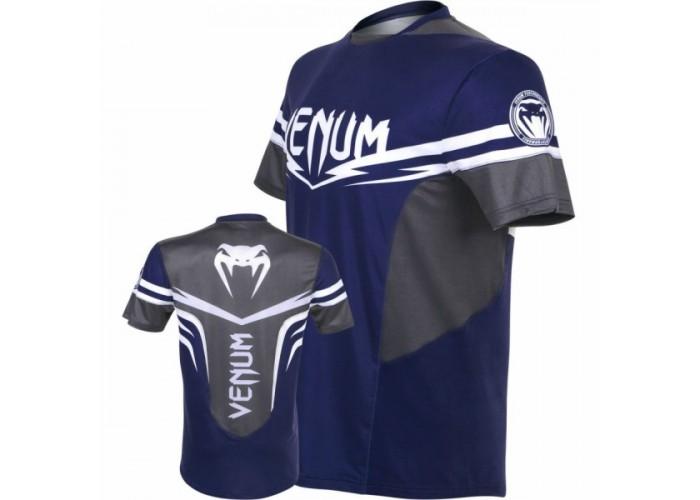 Футболка Venum Sharp 2.0 Dry Tech T-shirt Blue Grey