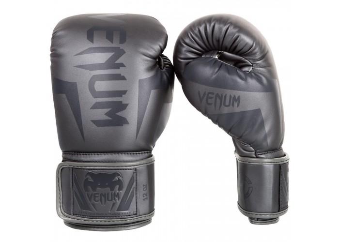 Боксерские перчатки Venum Elite Boxing Gloves Grey