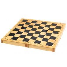 Доска деревянная для шахмат, шашек