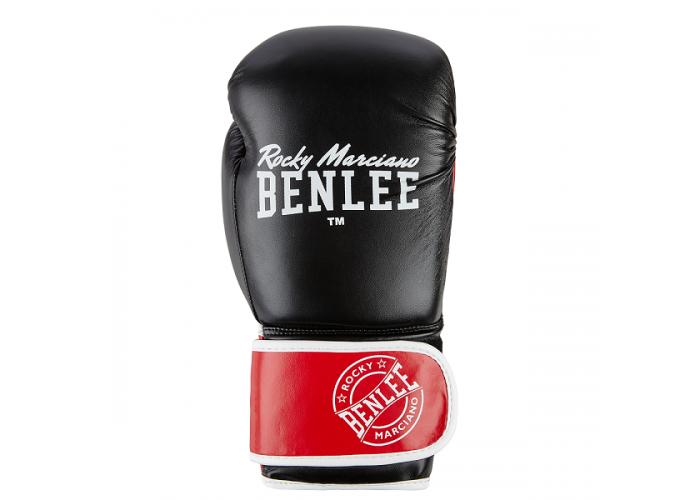 Боксерские перчатки BENLEE CARLOS (blk/red/white)