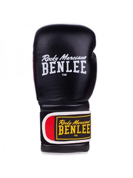 Боксерские перчатки BENLEE SUGAR DELUXE (blk/red)