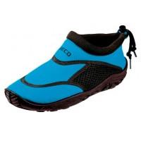 Тапочки для серфинга и плавания детские BECO 92171 660 бирюзовый/черный
