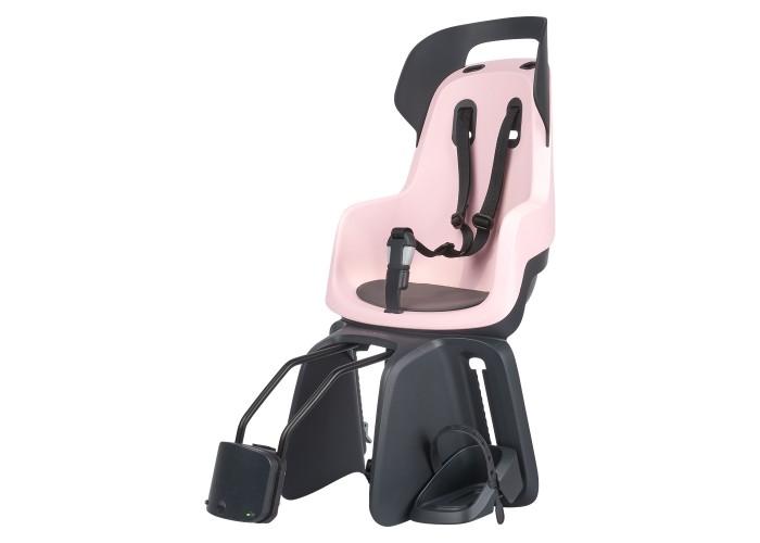 Детское велокресло Bobike Maxi GO Frame / Cotton candy pink