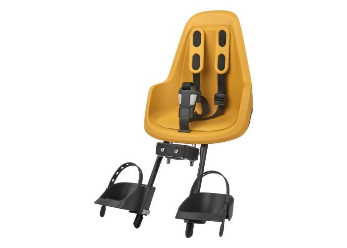 Детское велокресло Bobike Mini ONE / Mighty mustard