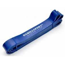 Латексная петля для фитнеса 2080 (ширина 29 мм синяя 14-38 кг)
