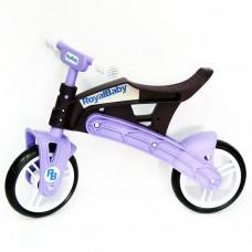 Беговел детский Real Baby, коричнево-фиолетовый