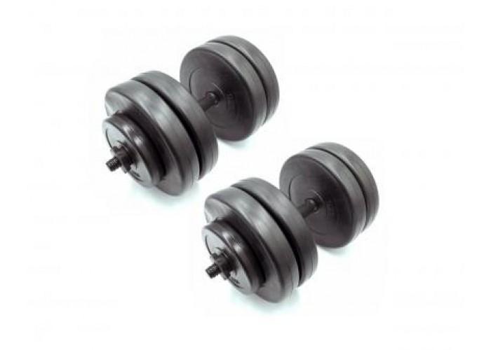 Гантели наборные композитные Newt Rock Pro 2 шт по 23 кг