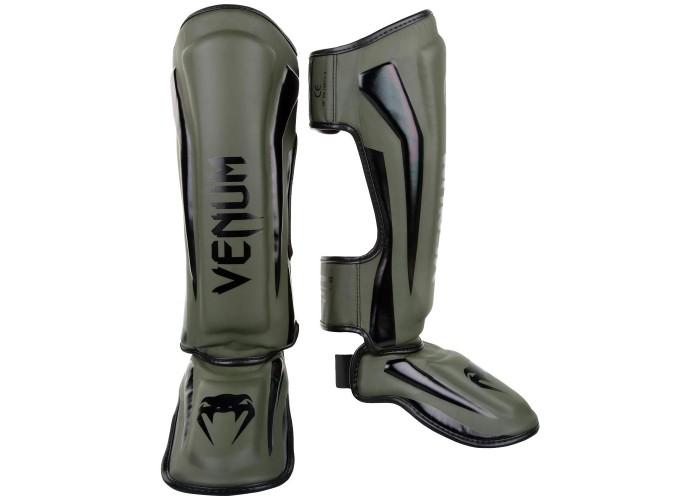 Защита голени Venum Elite Standup Shinguards Khaki Black