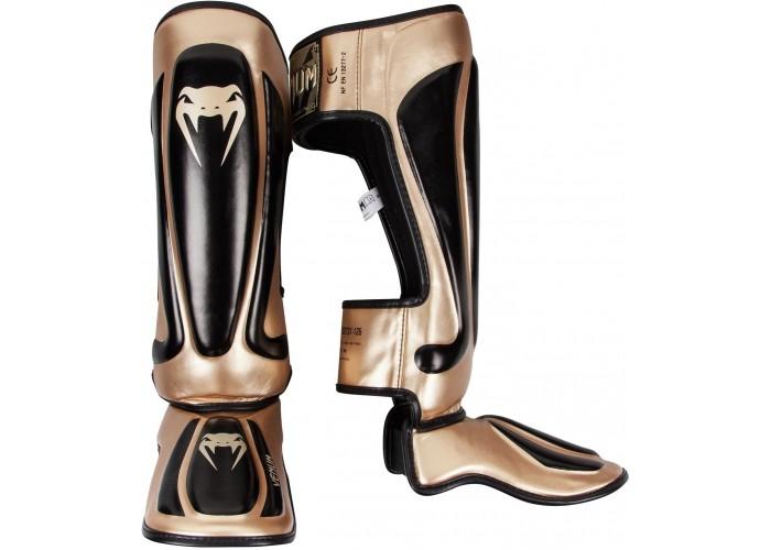 Защита голени Venum Predator Standup Shinguards Black Gold
