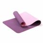 Коврик для фитнеса(йога-мат) с чехлом Newt TPE GR 6 мм фиолетово-розовый