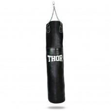 Мешок боксерский Thor с цепью (ременная кожа ) 150x35cm