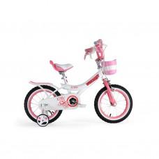 "Велосипед RoyalBaby JENNY GIRLS 14"", OFFICIAL UA, белый"