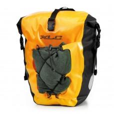 Комплект водонепроницаемых сумок XLC (2 шт), 21x18x46см, желтый