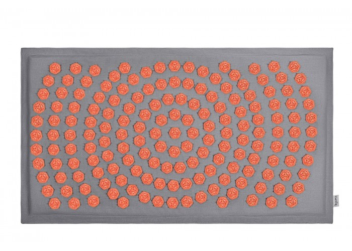 Коврик акупунктурный IGORA MAT 80х45 (серый лен)