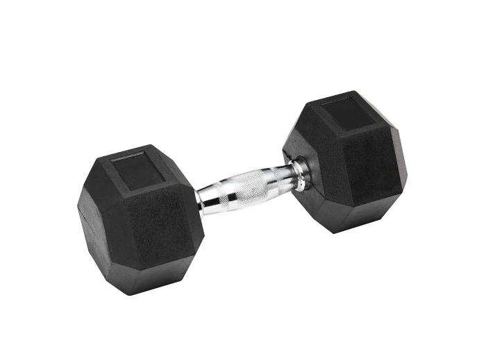 Гантель обрезиненная SPART 30 кг