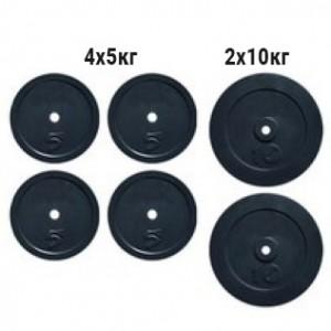 Набор дисков композитных Newt Rock 40 кг