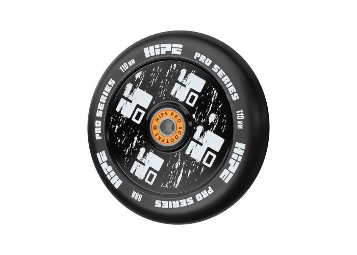 Колесо для трюкового самоката Hipe H4, 110мм, black/black