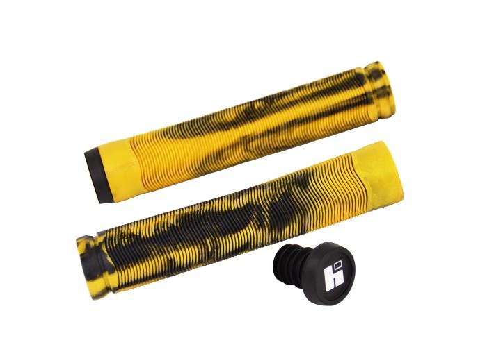 Грипсы для трюкового самоката Hipe H4 Duo, 155мм, black/golden