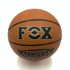 Мяч баскетбольный Newt Fox ball №7 коричневый