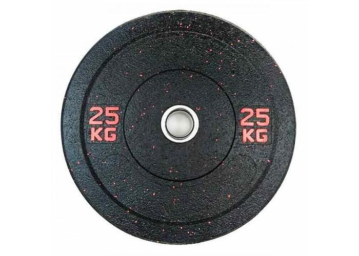 Бамперный диск для штанги Stein Hi-Temp 25 кг