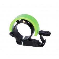Звонок велосипедный XLC , зеленый