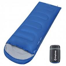 Спальный мешок KingCamp Oasis 250XL, синий, левая молния