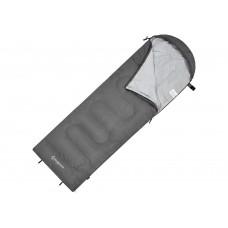 Спальный мешок KingCamp Oasis 250XL, серый, левая молния