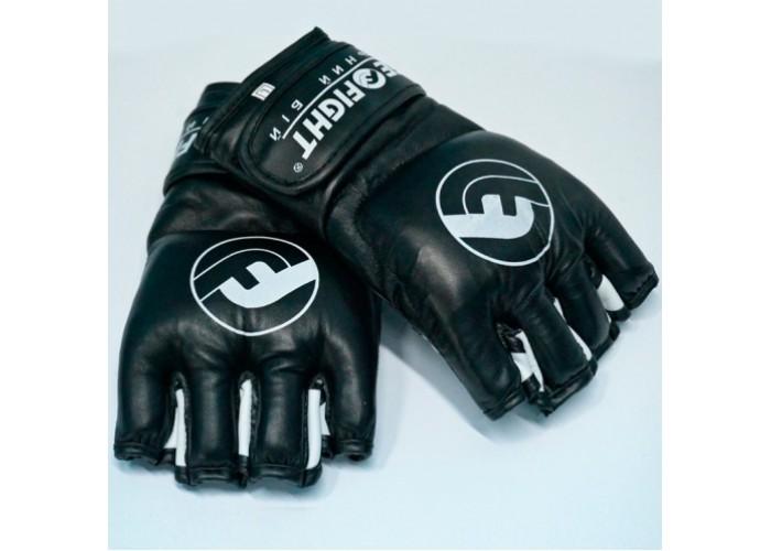 Перчатки MMA Free-Fight Gloves Black (4 унции)