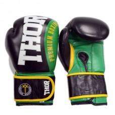 Боксерские перчатки THOR SHARK (PU) GRN