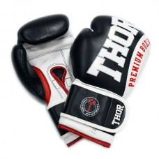 Боксерские перчатки THOR SHARK (PU) BLK