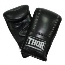 Снарядные перчатки THOR 605 (Leather) BLK