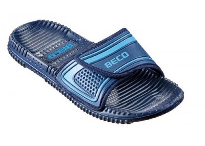 Тапочки массажные BECO 90601 76 тёмно-синий/голубой