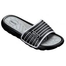 Тапочки мужские BECO 9082 011 чёрный/серый
