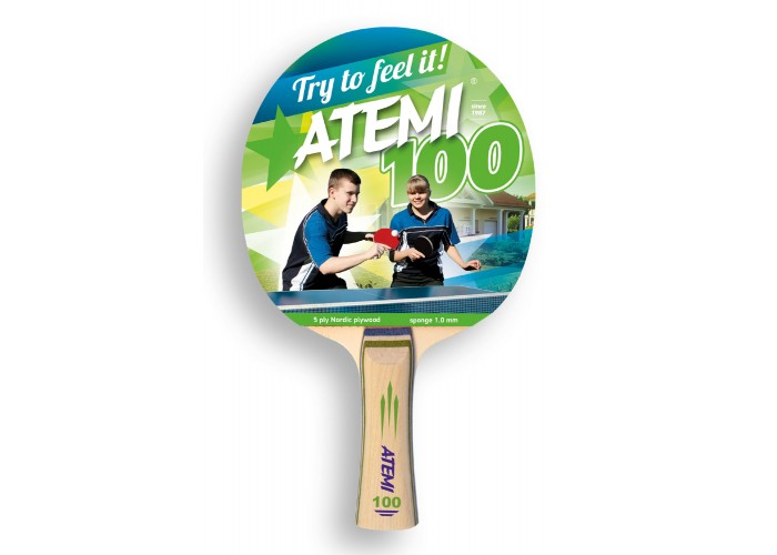 Ракетка настольного тенниса ATEMI 100