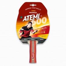Ракетка для настольного тенниса ATEMI 600*** PROGRESS