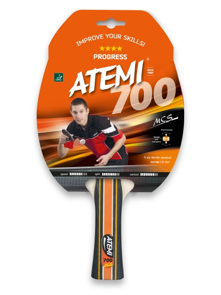 Ракетка для настольного тенниса ATEMI 700**** PROGRESS