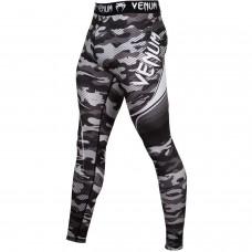 Компрессионные штаны Venum Camo Hero Spats White Black