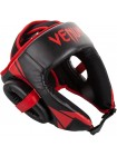Шлем Venum Challenger Open Face Headgear Black/Red
