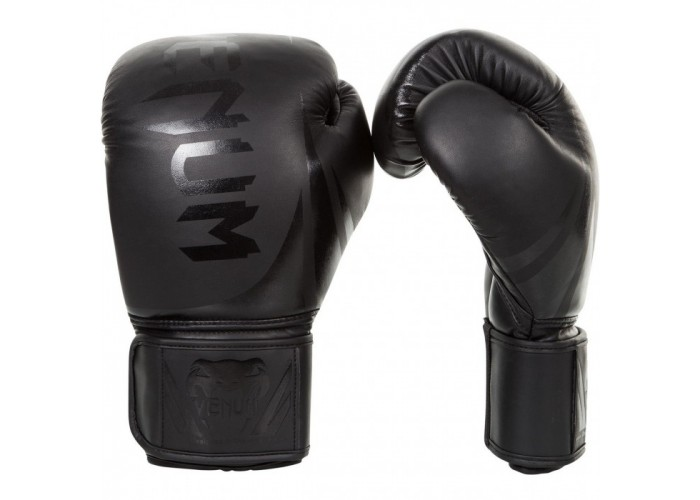 Боксерские перчатки Venum Challenger 2.0 Matte Black