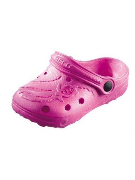 Тапочки сабо детские BECO 9084 44 розовый