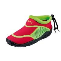 Тапочки для серфинга и плавания детские BECO 92171 58 красный/зелёный