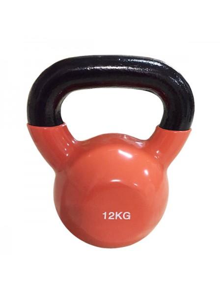 Цветная виниловая гиря Rising 12 кг