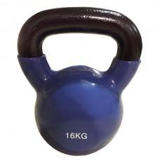 Цветная виниловая гиря Rising 16 кг
