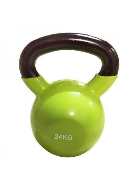 Цветная виниловая гиря Rising 24 кг