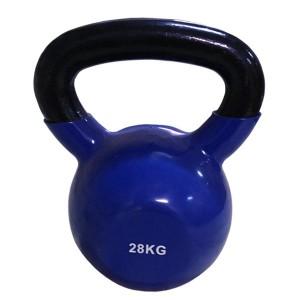 Цветная виниловая гиря Rising 28 кг