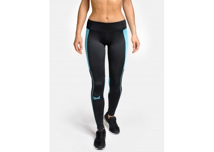 Женские компрессионные леггинсы Peresvit Air Motion Women's Leggins Black Aqua