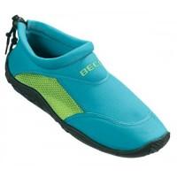 Тапочки для серфинга и плавания BECO 9217 668 бирюзово/зеленый