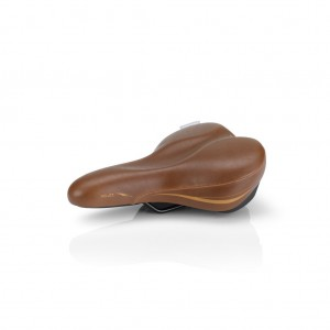 Седло XLC SA-E12 Everyday II, Unisex, 268x204мм, коричневое