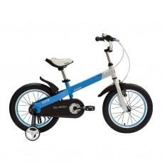 "Велосипед RoyalBaby BUTTONS 12"", бело-синий"