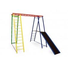 Детский спортивный игровой комплекс Sport Baby с горкой 145/127/130